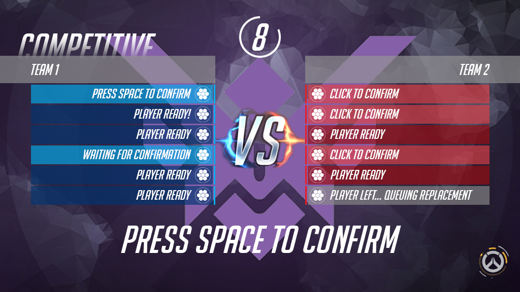 Sample Competitive Confirmation Screen