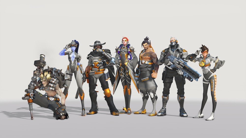 Original black and gold OWL skins still available? - General Discussion -  Overwatch Forums