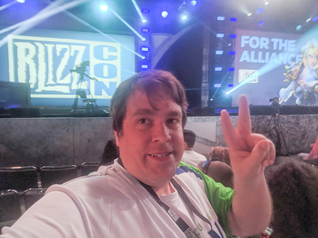 Craig at BlizzCon 2019