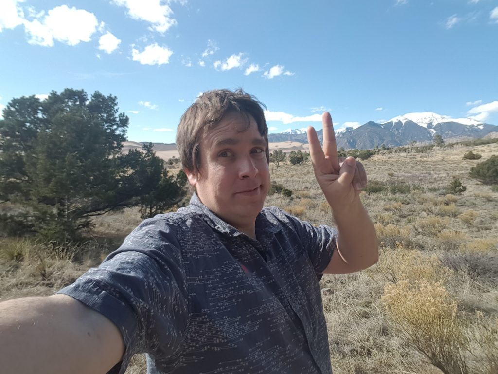 Craig at Great Sand Dunes National Park
